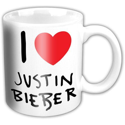 Justin Bieber - I Love JB - Mugg