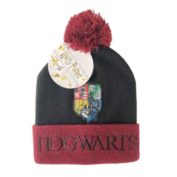 Harry Potter - Hogwarts pompom mössa
