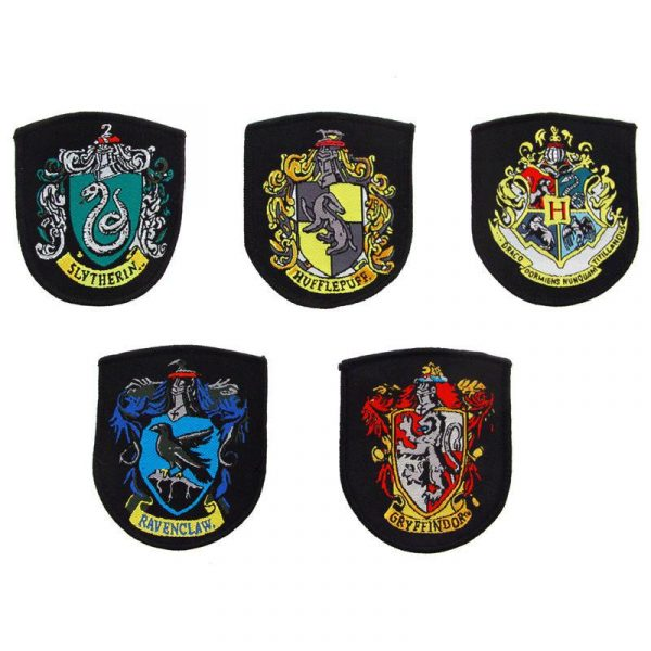 Harry Potter - Hogwarts set 5 patches
