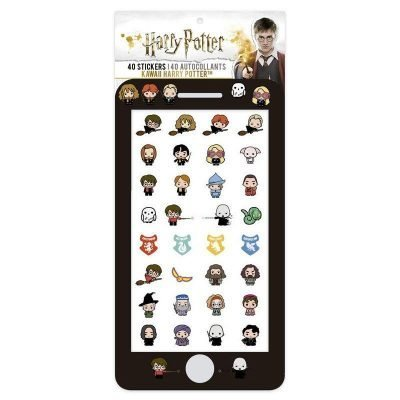 Harry Potter - 40 st. Tech stickers - Ad extra magic to your phone or notebook