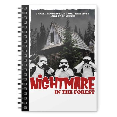 Anteckningsbok - Star Wars - Original Stormtrooper - Nightmare in the Forest