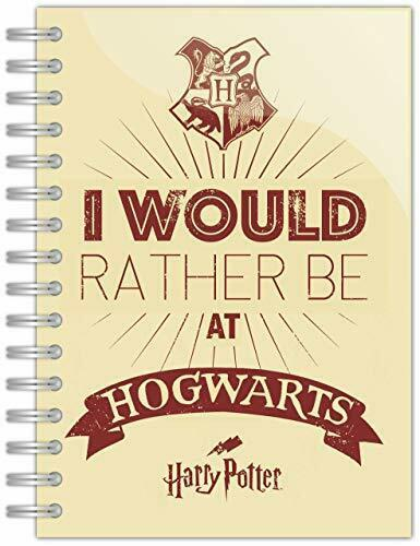 Anteckningsbok - Harry Potter Notebook - I would rather be at Hogwarts