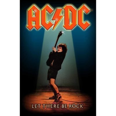 Posterflagga - AC/DC - Let There Be Rock