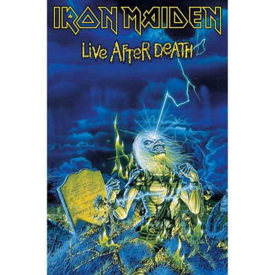 Posterflagga - Iron Maiden - Live After Death