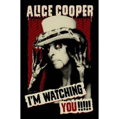 Posterflagga - Alice Cooper - I'm Watching You