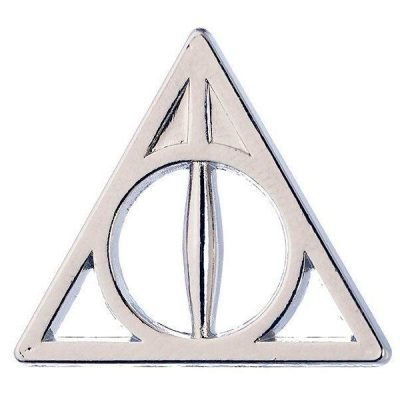 Harry Potter - Deathly Hallows pin badge