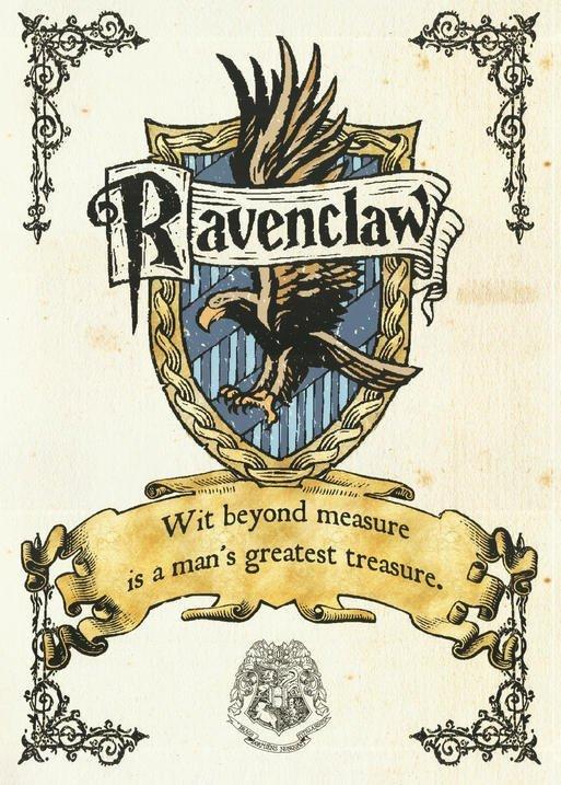 A3 Print - Harry Potter - Ravenclaw Crest