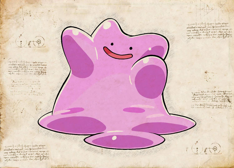 Pergament - Pokemon - Ditto