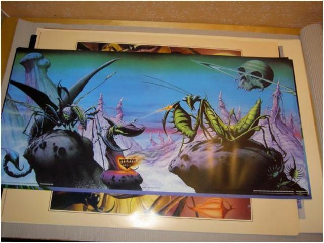 Rodney Matthews-Fantasy Art 5(Trollkarl och syrsa)