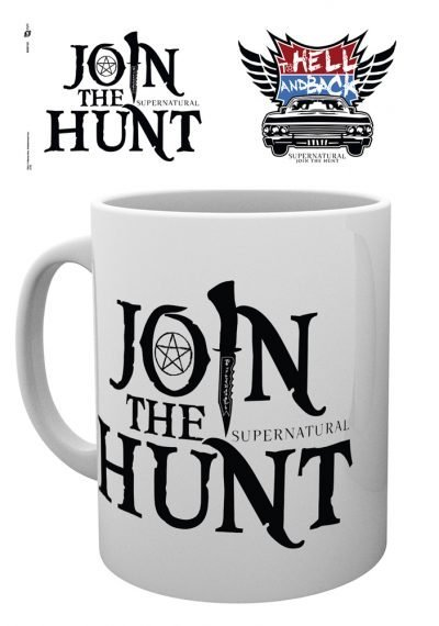 Supernatural - Join the hunt - Hell And Back - Mugg