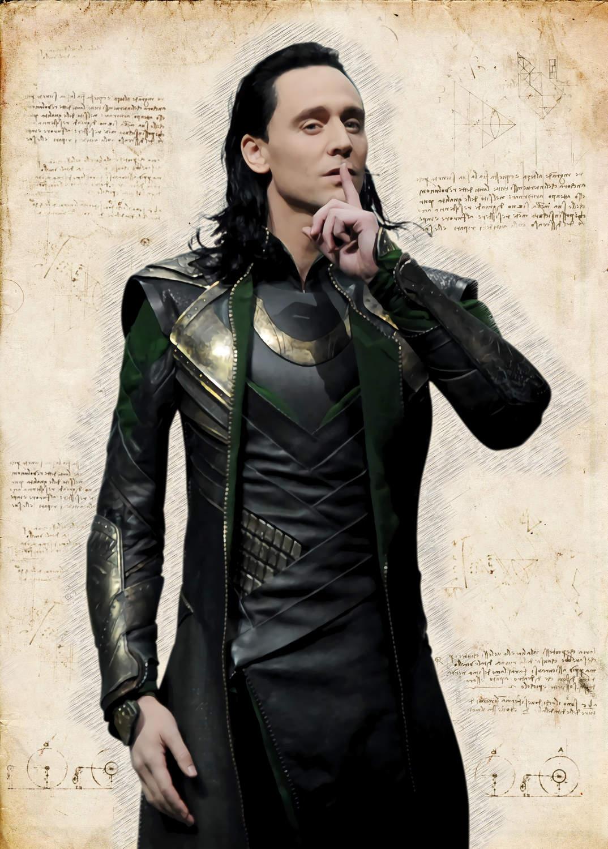 A3 Print - Loki