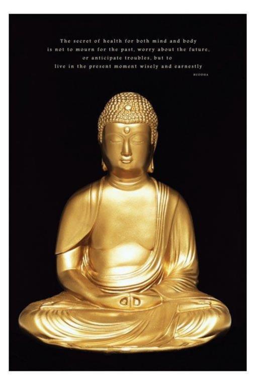 Buddha - Gold