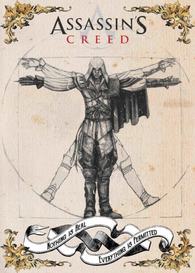 Pergament -Assassins Creed - Nothing is real