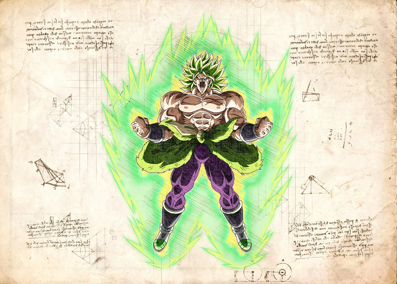 Pergament - Dragon Ball - Broly