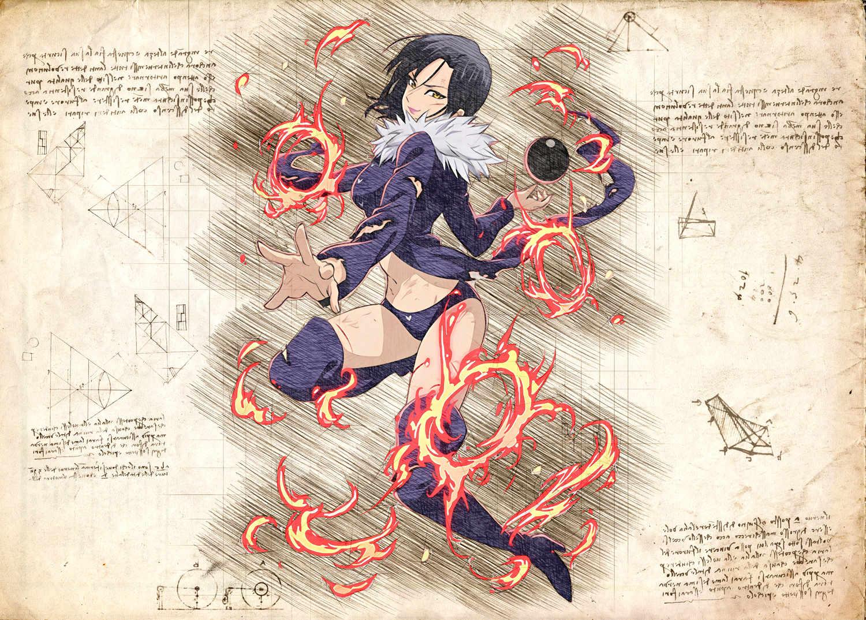 Pergament - 7 Deadly Sins - Merlin