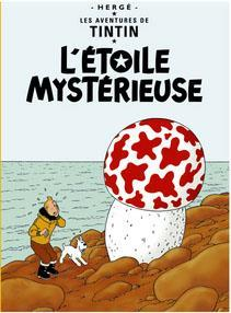 Poster - Tintin L'etoile mysterieuse - Den mystiska stjärnan