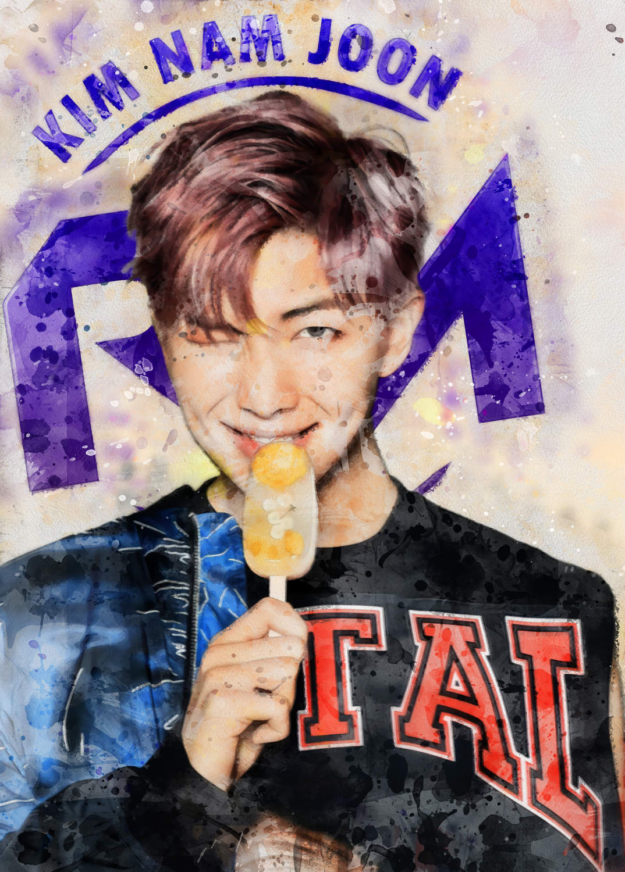 A3 Print - K Pop - RM