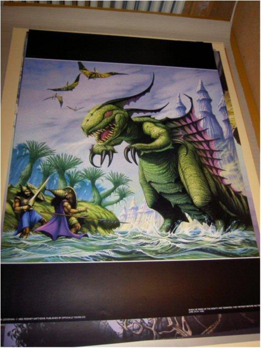Rodney Matthews-Fantasy Art 13 (Warriors & dragon)