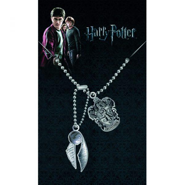 Halsband -Harry Potter Gryfindor Dog Tags