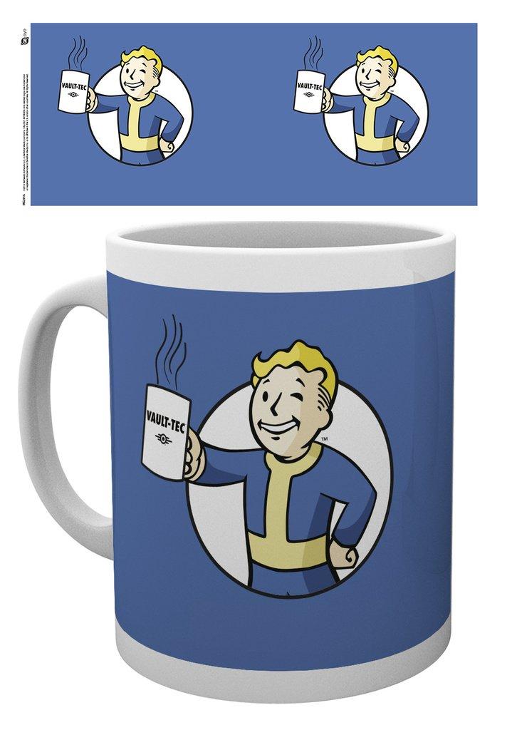 Fallout - Vault Boy Holding Mug - Mugg