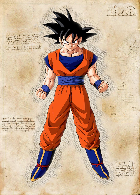 Pergament - Dragon Ball - Son-Goku