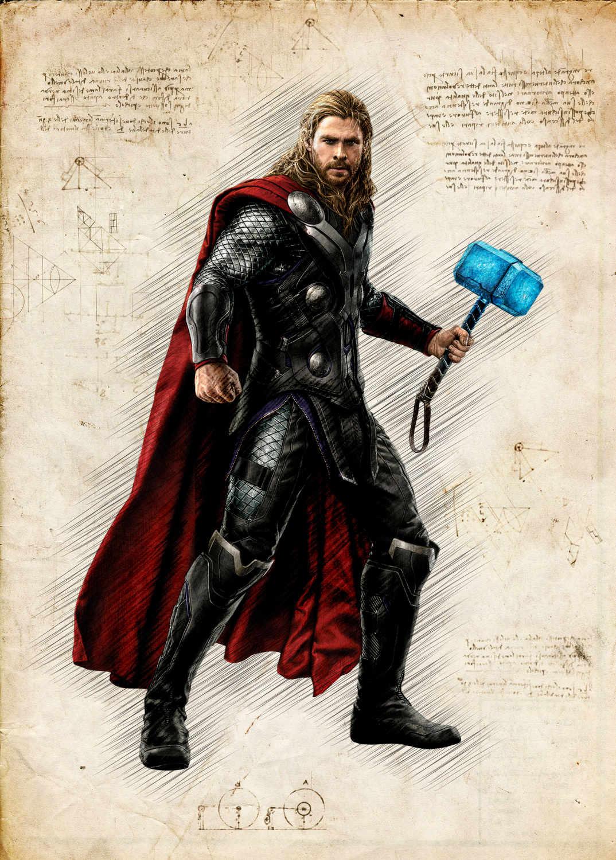 A3 Print - Thor