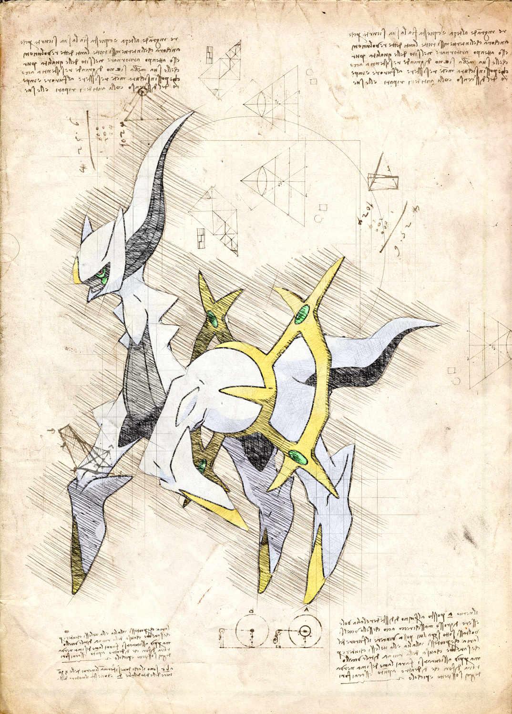 Pergament - Pokemon - Archeus