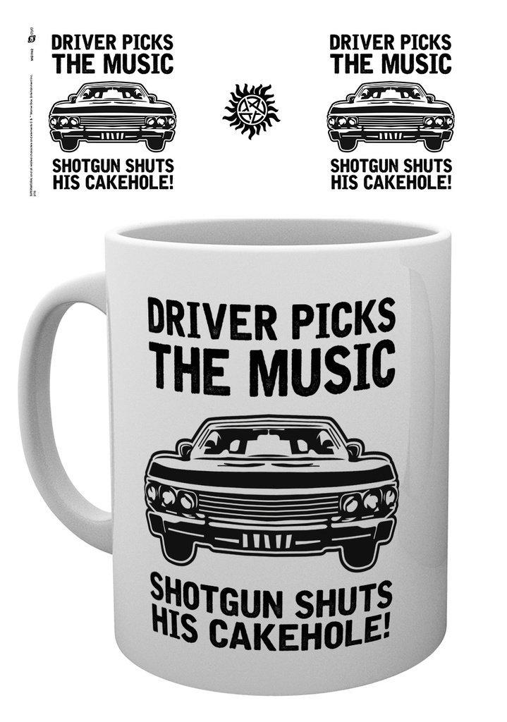 Supernatural - Driver picks the music - Mugg