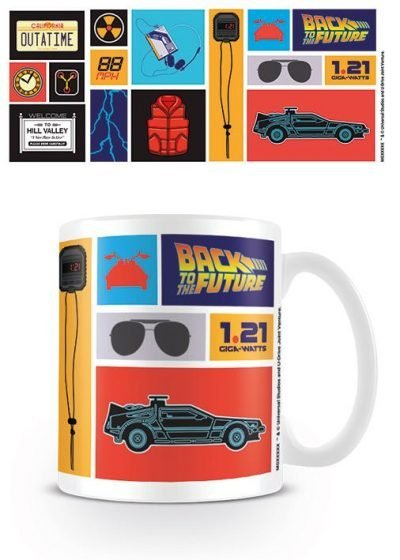 Back to the Future - Collection - Mugg