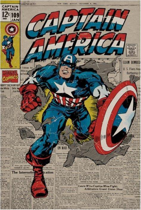 Captain America - (Retro)