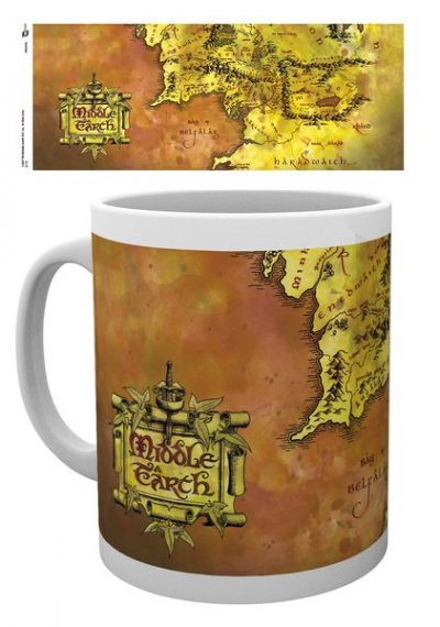 Lord of the rings - Map - Mugg