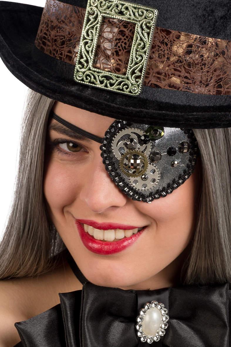 Steampunk eyepatch