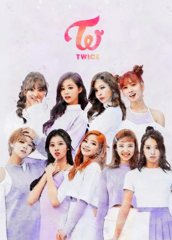 A3 Print - K Pop - Twice