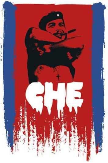 Che Guevara - Taking shirt off - cross