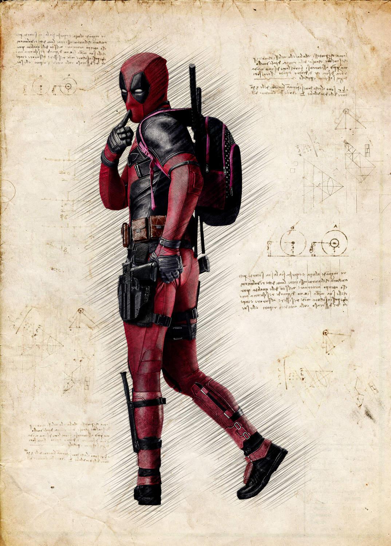 A3 Print - Deadpool