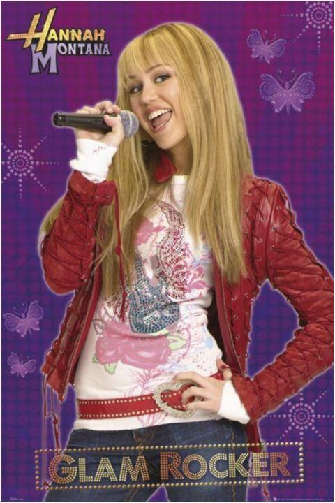 Hannah Montana - Glam rocker