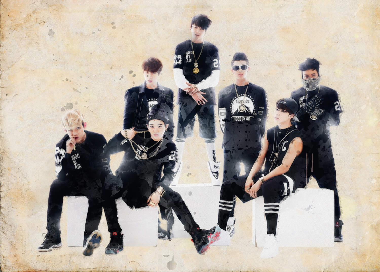 A3 Print - K Pop - BTS