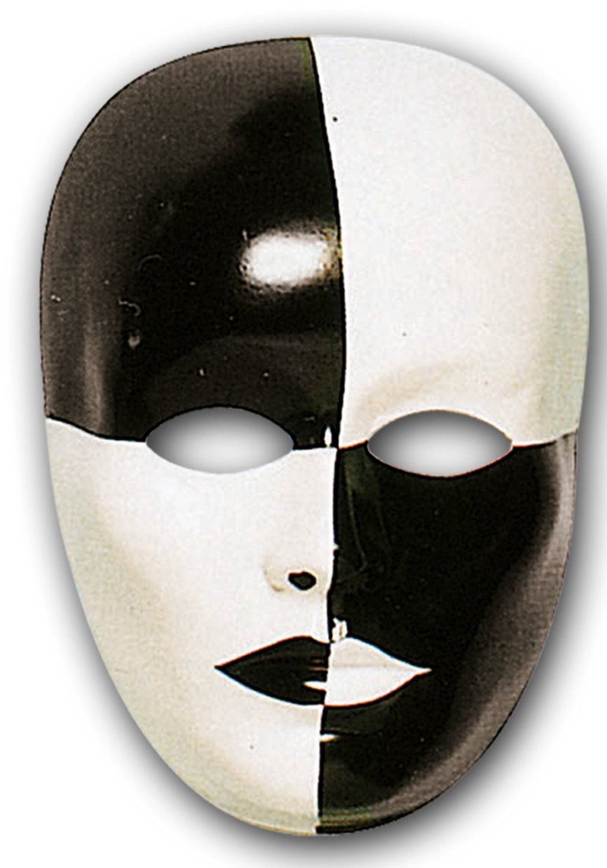Ansiktsmask - Chess Face