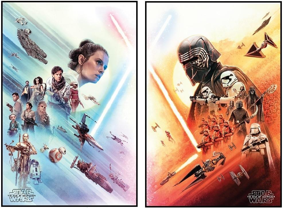 Star Wars - The Rise of Skywalker (Kylo och Rey)