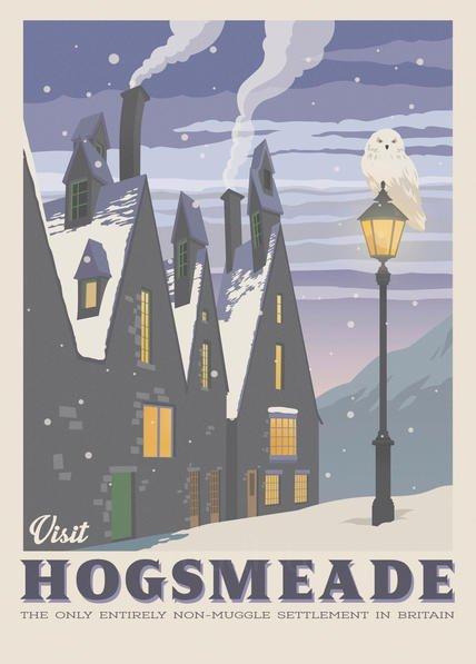 Pergament - Harry Potter - Visit Hogsmeade