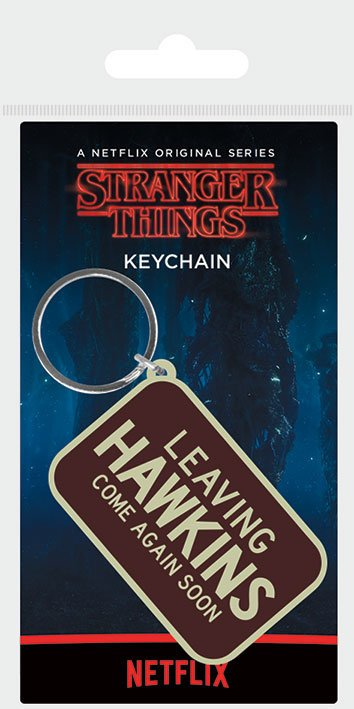 Nyckelring - Stranger Things (Leaving Hawkins)