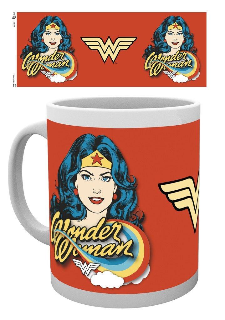 DC Comics - Wonder Woman Face - Mugg