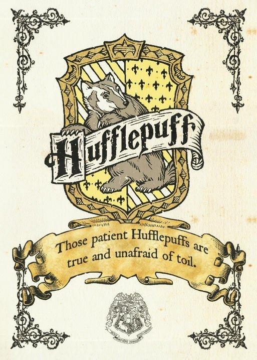A3 Print - Harry Potter - Hufflepuff Crest