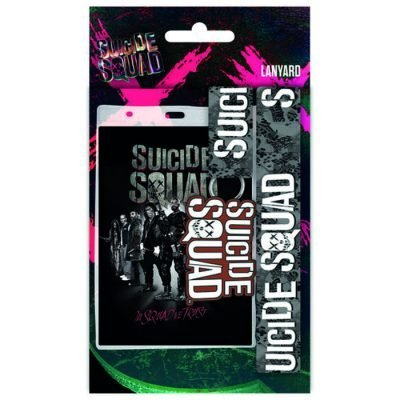 Nyckelband -Suicide Squad Lanyard