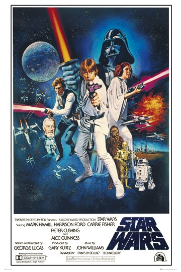 Star Wars - One Sheet