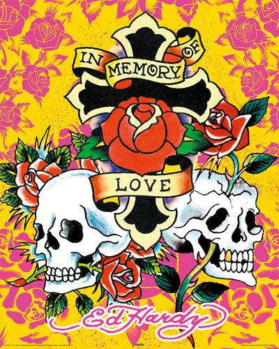 Ed Hardy Poster In memory