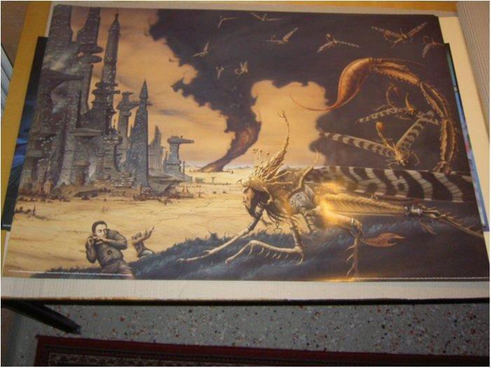 Rodney Matthews - Fantasy Art 22 (Future city)