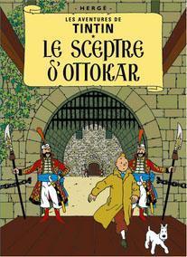 Poster - Tintin Le Sceptre d'Ottokar - Kung Ottokars spira