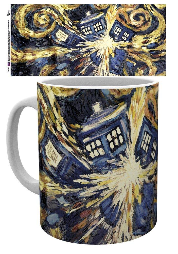 Doctor Who - Exploding Tardis - Mugg
