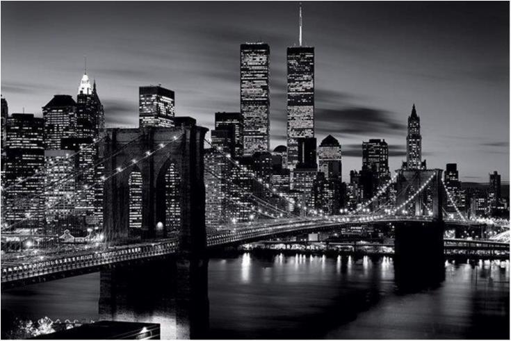 Brooklyn bridge - B&W